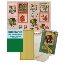 Complete Kits, for 4 Christmas Cards