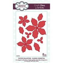 Stanz- und Prägeschablonen, Blüten und Blätter