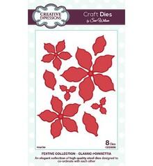 Creative Expressions Taglio e goffratura stencil, foglie e fiori (CED3008)