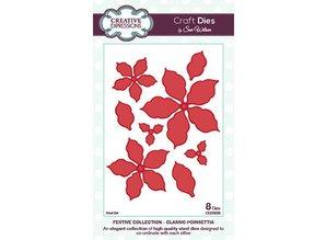 Creative Expressions Skæring og prægning stencils, blade og blomster CED3008)