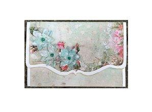 Creative Expressions Taglio e goffratura stencil, foglie e fiori CED3008)