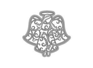 TONIC Skæring og prægning stencils, filigran engel
