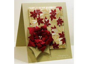 Creative Expressions Cutting and embossing stencils, leaves and flowers CED3008)