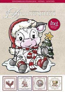 Bücher und CD / Magazines Bastelbuch con Stitch, motivi natalizi