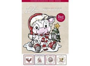 Bücher und CD / Magazines Bastelbuch med søm, julemotiver