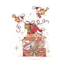 Sellos transparentes, Robins a los regalos