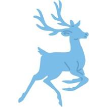Corte y estampado en relieve plantillas, renos