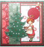 Joy!Crafts und JM Creation Joy Crafts, Stanz- und Präge & Embroideryschablone, 6002 2008, Weihnachtsbaum