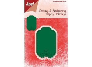 Joy!Crafts und JM Creation Cutting and embossing stencils, label