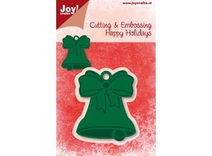 Joy!Crafts und JM Creation Skæring og prægning stencils, klokke