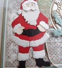 Marianne Design Taglio e goffratura stencil, Babbo Natale