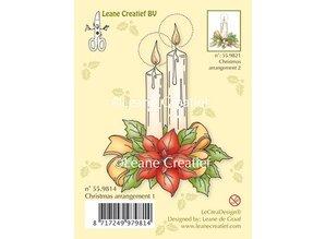 Leane Creatief - Lea'bilities Gennemsigtige frimærker, stearinlys