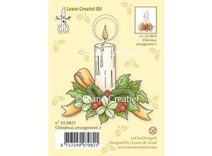 Leane Creatief - Lea'bilities Gennemsigtige stempler et stearinlys