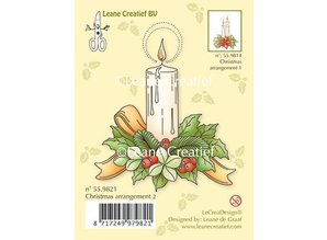 Leane Creatief - Lea'bilities Transparent stamps A Candle