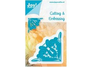 Joy!Crafts und JM Creation Stamping and Embossing stencil, corner