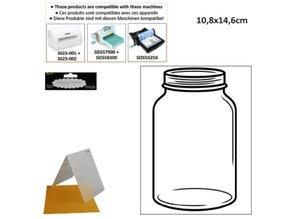 embossing Präge Folder Prægning mapper: Glas