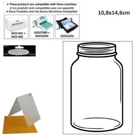 embossing Präge Folder Prägefolder: Glas