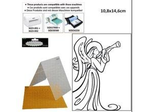 embossing Präge Folder Embossing folders, with Angel