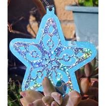 Ponsen - en embossing stencil, Star