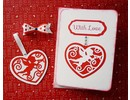 Marianne Design Punching - and embossing stencil, filigränes heart with angel