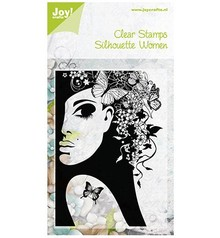 Joy!Crafts und JM Creation Transparent Stempel, Silhouette Women