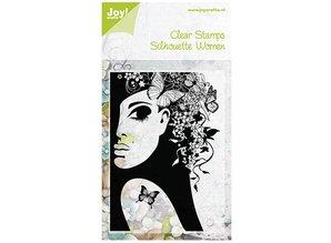 Joy!Crafts und JM Creation Gennemsigtige frimærker, Silhouette Kvinder