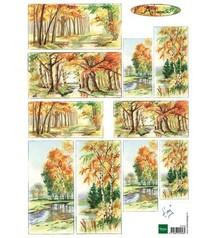 Marianne Design Marianne Design, Bilderbogen autunno