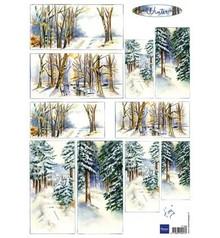 Marianne Design Marianne Design, Bilderbogen: Inverno