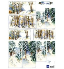 Marianne Design Marianne Design, Bilderbogen: Winter