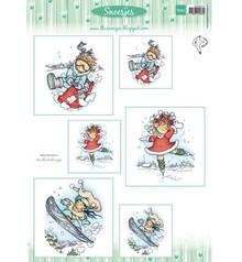 Marianne Design Marianne Design, Bilderbogen: Snoesjes & Winter