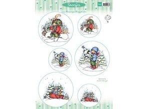 Marianne Design Marianne Design, Bilderbogen: Snoesjes & Winterwald
