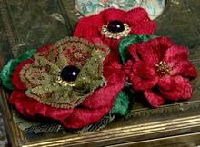 Prima Marketing und Petaloo Petaloo flowers, red