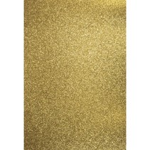 A4 craft carton: glitter, gold