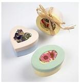 Objekten zum Dekorieren / objects for decorating Passepartout-Schachteln, D: 7,5 cm, 4 verschiedene