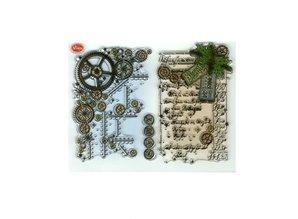 Viva Dekor und My paperworld Gennemsigtige frimærker, Steampunk