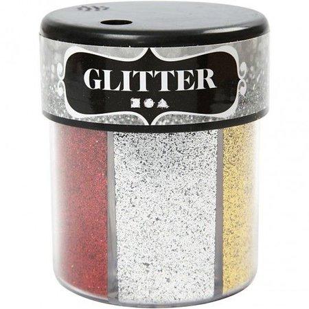 BASTELZUBEHÖR / CRAFT ACCESSORIES Surtido Glitter, 6x13 g