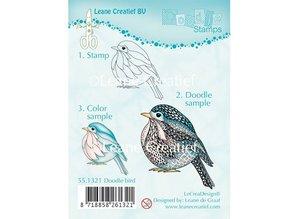 Leane Creatief - Lea'bilities Transparent stamps, Doodle Bird