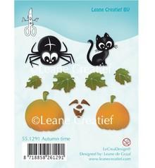 Leane Creatief - Lea'bilities Gennemsigtige frimærker, Efterår motiver