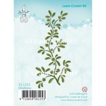 Transparent stamps, plant