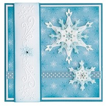Stamping and embossing stencils, Lea'bilities, ice crystals