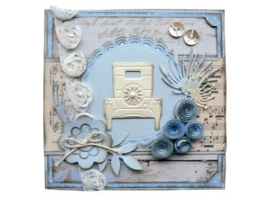 Marianne Design Stamping and Embossing stencil, Creatables - T-Ford
