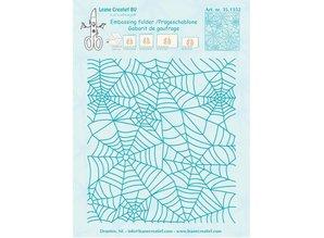 Leane Creatief - Lea'bilities Prägefolder: Spinnewebe Muster