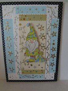 Leane Creatief - Lea'bilities Timbro Doodle, Babbo Natale
