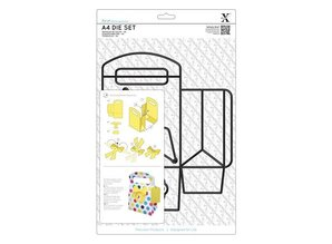 X-Cut / Docrafts A4 punching and embossing templates, 3D box
