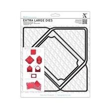 X-Cut / Docrafts SPECIAL A4 skæring dør, Ekstra stor (1 stk), kuvert