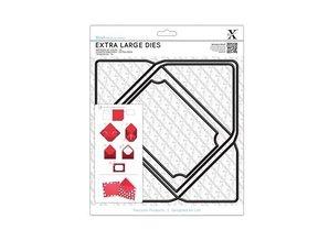 X-Cut / Docrafts A4 skæring dør, Ekstra stor (1 stk), kuvert