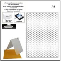 A4 carpetas de grabación en relieve: puntos
