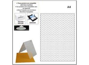 embossing Präge Folder A4 carpetas de grabación en relieve: puntos