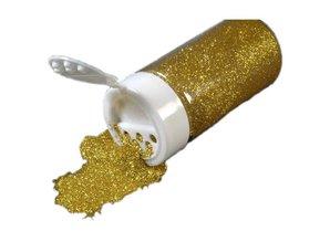 BASTELZUBEHÖR / CRAFT ACCESSORIES Glitter i en Streudose 14g, guld
