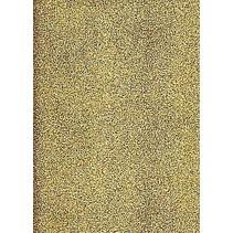 A4 Stickerbogen: Glitter, gold